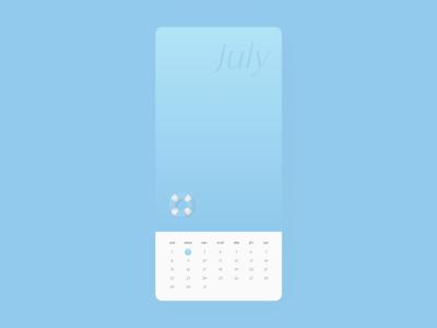 Daily UI 38 🗓 Calendar light blue blue calendar design calendar ui dailyui 038 daily ui calendar uidesign dailyui