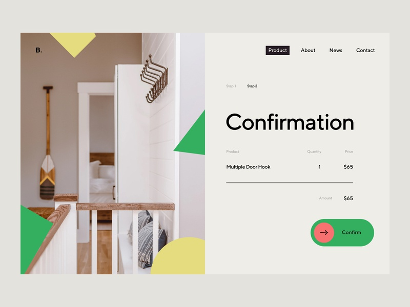 Daily UI 054 - Confirmation colorful tt norms simple daily ui challenge ui daily ui design clean uidesign dailyui