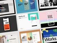Daily UI 063 Best of ... 👀 colorful retro daily ui challenge ui design daily ui figma uidesign dailyui