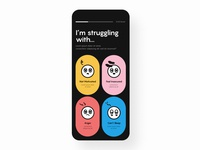 Daily UI 064 👩👩👧 Select User Type colorful illustration daily ui challenge ui design daily ui figma uidesign dailyui