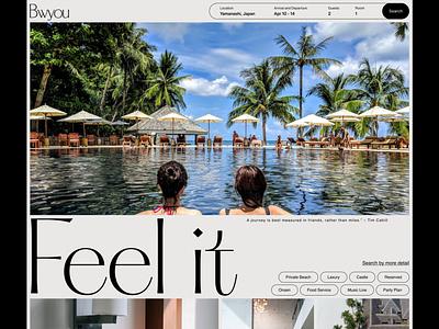 Daily UI 066 🔑 Hotel Booking typography luxury daily ui challenge ui figma design daily ui uidesign dailyui