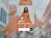 Daily UI 026 | Subscribe 👗