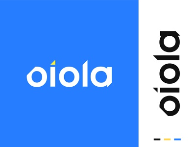 Oiola vector minimal logotype logodesign logo lettermark letter logo icon flat design creative logo creative corporate business brand design branding brand identity brand app