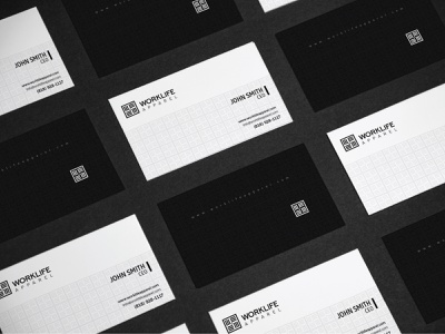 WorkLife Apparel apparel creative logotype logodesigner brandidentity icon flat design logo editorial design editorial brand identity business business card design business cards business card businesscard app