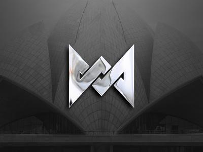M and A monogram logo logo concept logo designer dribbble best shot chrome logo mockup blackandwhite creative logo creative logodesign illustration vector logodesigner flat design icon logo