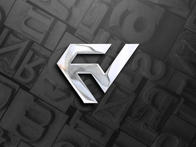 FV graphic design lettering art creative lettering black and white dribbble best shot logotype logodesign illustration brandidentity vector logodesigner design icon flat logo lettering logo