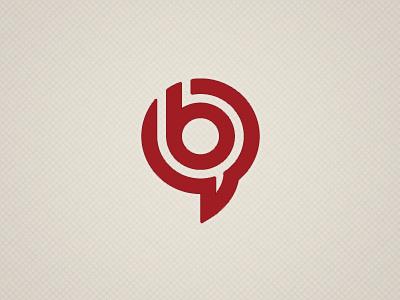 Copywriter Logo red circle b