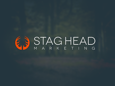 Stag Head Marketing Logo