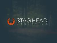 Stag Head Marketing Logo