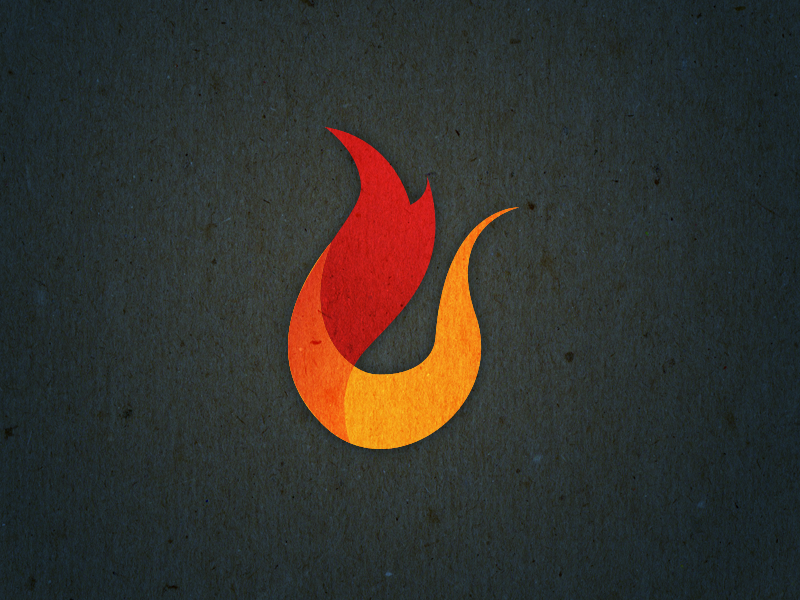 Rejects and Derelicts - Flame Logo Icon