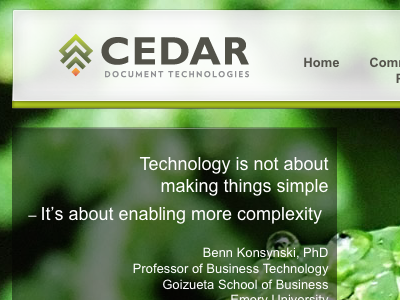 CEDARdoc Header