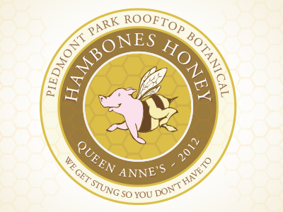 HamBones Honey Label