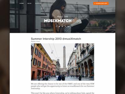 Musixmatch blog music blog app lyrics