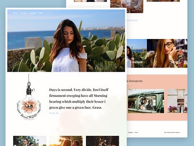 Photographer website — Home koken portfolio photography