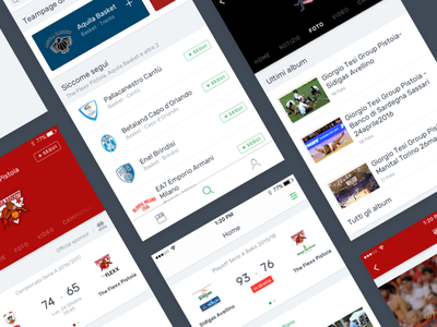 Slyvi — Redesign discover live ui match search sport