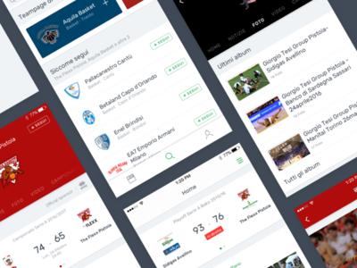 Slyvi — Redesign discover live ui match search sport
