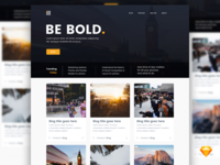 Bold Blog | .sketch