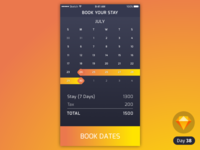 Date Picker | Daily UI | .sketch