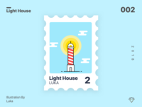 Lighthouse Stamp | .sketch