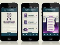 Dreamcatcher App Design