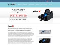 Panini Website Refresh