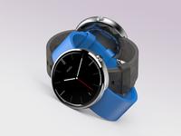 3D Moto 360 Watch