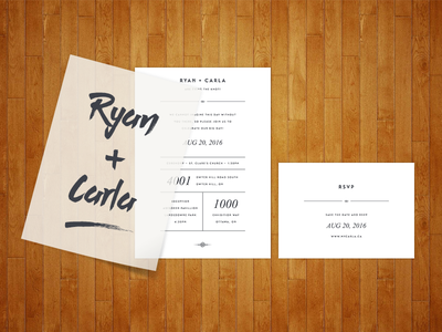 Wedding Invitations white minimalist design rsvp cards invitations wedding