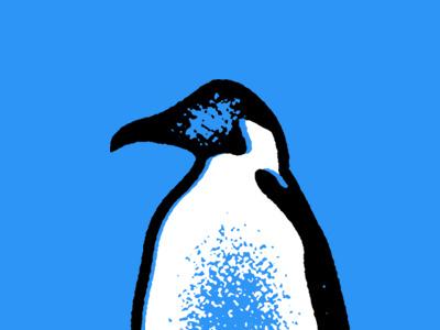 Penguin penguin stamp