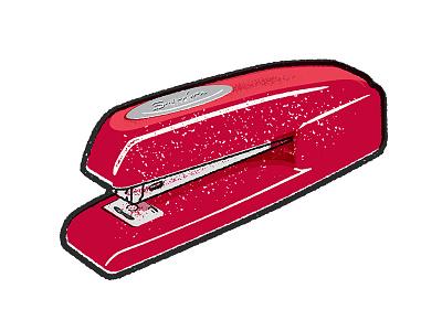 Swingline stapler texture illustration