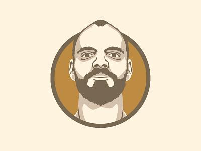 Me portrait illustration profile