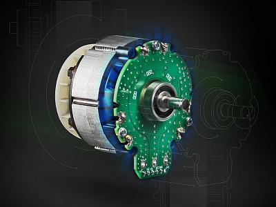 Motor Illustration photoshop motor engineering mechanical cad