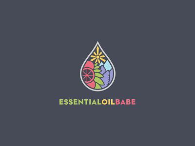 Oil Logo oils logo brand nature fruit essential babe