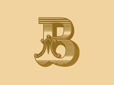 Letter B letter b initial cap