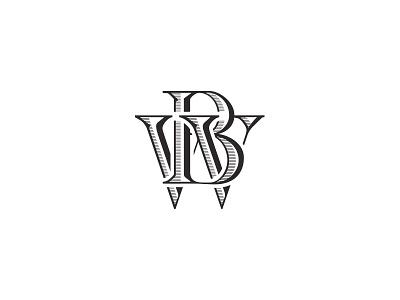 Monogram monogram initials caps
