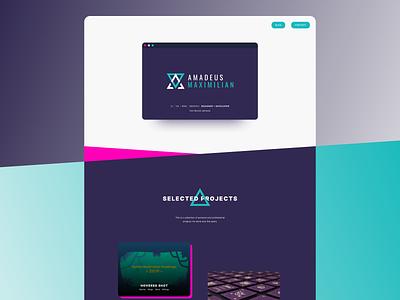 Portfolio V2 portfolio site portfolio web design vector branding logo ui design