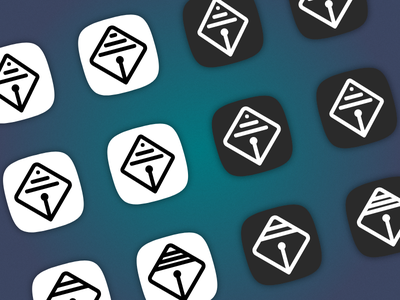 Logo Update Iterations icon update iterations drafts icon