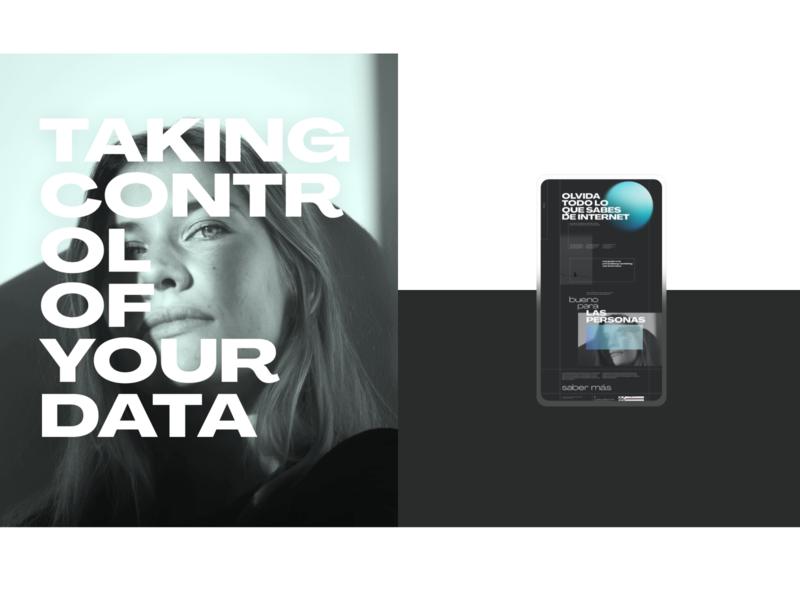 privacy cloud web design typography adobe xd web ui ux interaction logo layout custom design