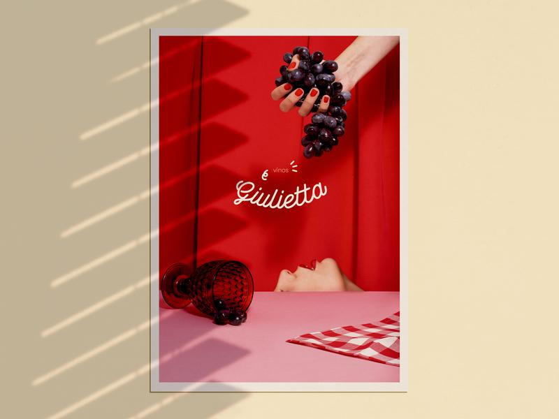 giulietta art direction art direction grapes lynch giulietta cellar bar restaurant italian food wine photograhy logo layout branding design