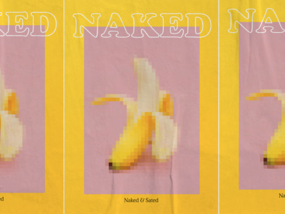 naked poster menu