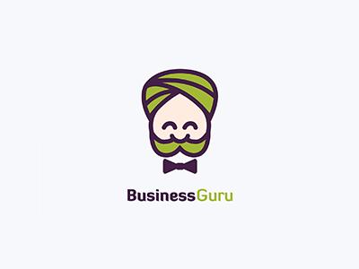Business Guru Logo Design logo design logo relax business guru