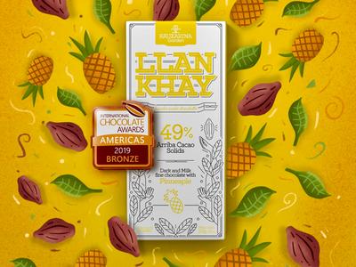 Llankhay Chocolate Pineapple / Bronze Chocolate Award