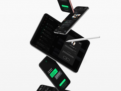 Session App Launch ui messenger app dark mode messengers
