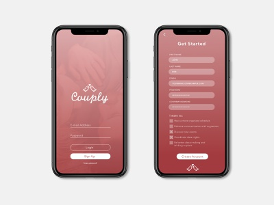 Daily UI Challenge No. 1: Sign Up app daily ui challenge daily ui 001 ui daily ui