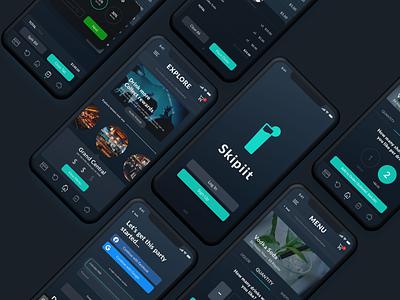 Skipiit Redesign ui design uxui ui mobile ui app design mobile app design
