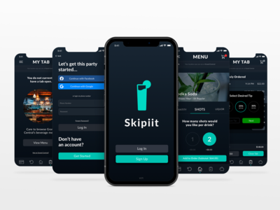 Skipiit: A Mobile Drink Ordering App