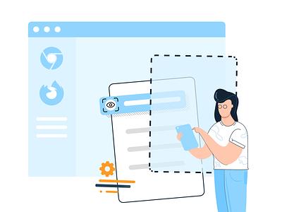 New launch alert! quality developer sketch find bug launch automate dashboad browser visual visual design 2d ui product mobile web design browserstack testing illustration
