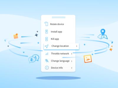 App Live Tool Bar