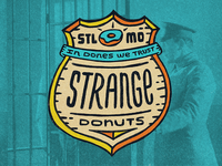Strange Donuts | Sticker