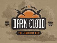 Dark Cloud Ale | Logo