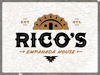 Rico's Empanada House | Logo